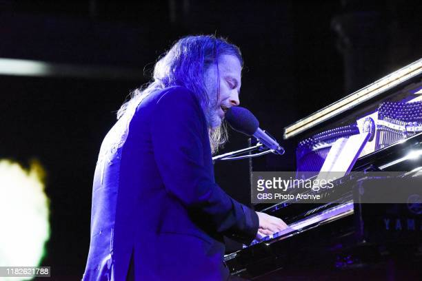 The Late Show with Stephen Colbert and musical guest Thom Yorke during Thursday's November 14, 2019 show.