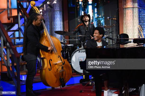 The Late Show with Stephen Colbert and Stay Human including Jon Batiste Louis Cato and Joe Saylor during Friday's May 11 2018 show