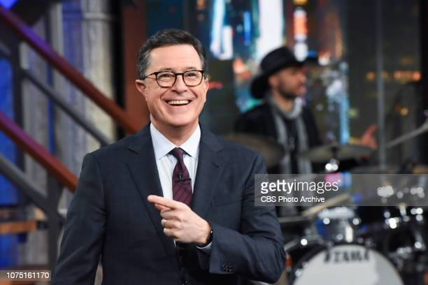 The Late Show with Stephen Colbert during Friday's December 21 2018 show