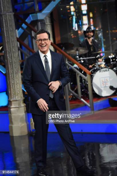 The Late Show with Stephen Colbert during Friday's February 1 2018 show