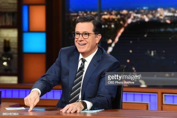 The Late Show with Stephen Colbert during Friday's November 17 2017 show