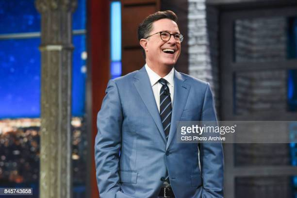 The Late Show with Stephen Colbert during Friday's September 8 2017 show