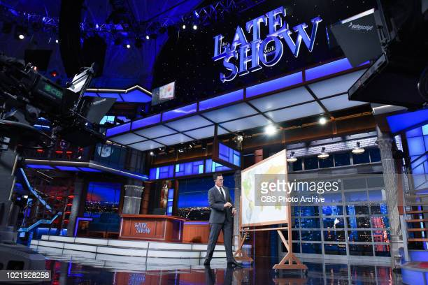 The Late Show with Stephen Colbert during Monday's August 13 2018 show