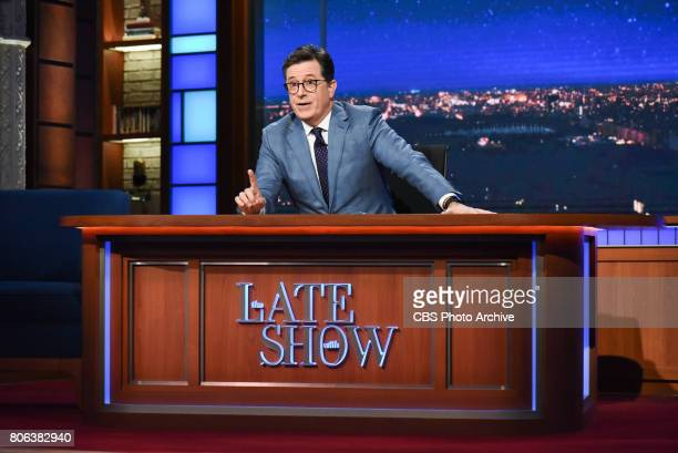 The Late Show with Stephen Colbert during Monday's June 26 2017 show