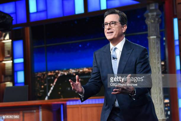 The Late Show with Stephen Colbert during Monday's March 5 2018 show