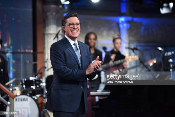 The Late Show with Stephen Colbert during Thursday's August 17 2017 show