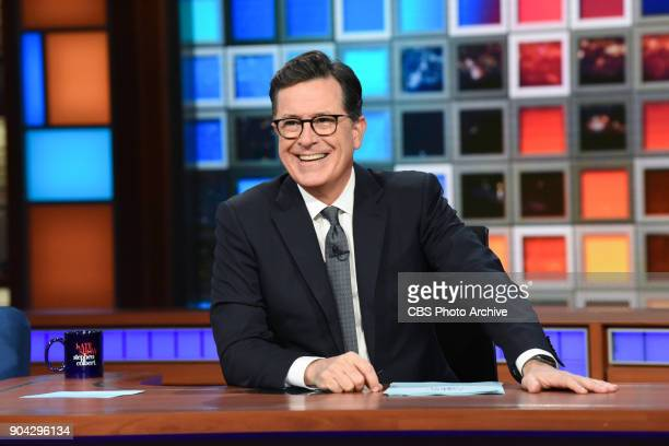 The Late Show with Stephen Colbert during Thursday's January 11 2018 show