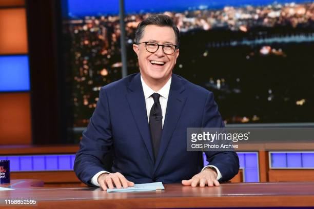 The Late Show with Stephen Colbert during Thursday's July 25, 2019 show.