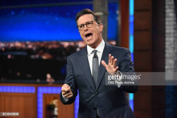 The Late Show with Stephen Colbert during Thursday's July 27 2017 show