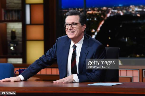 The Late Show with Stephen Colbert during Thursday's March 8 2018 show