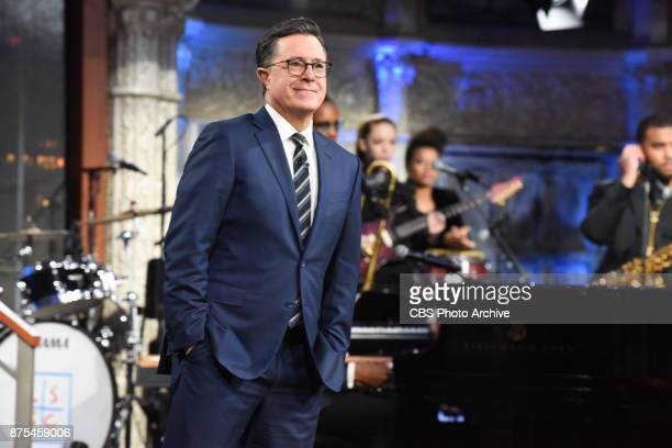 The Late Show with Stephen Colbert during Thursday's November 16 2017 show
