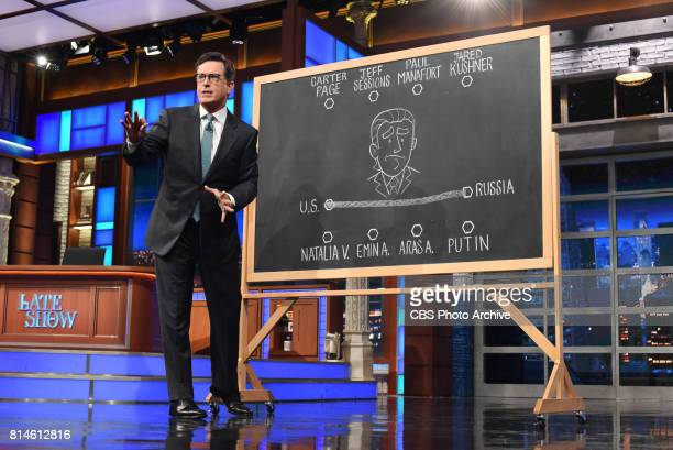 The Late Show with Stephen Colbert during Tuesday's July 11 2017 show