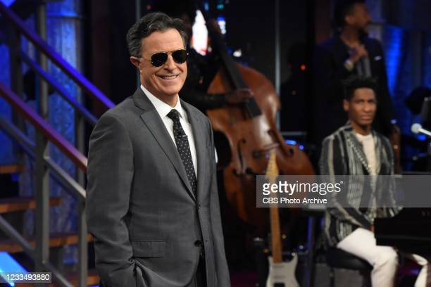 The Late Show with Stephen Colbert during Tuesdays June 15, 2021 show.