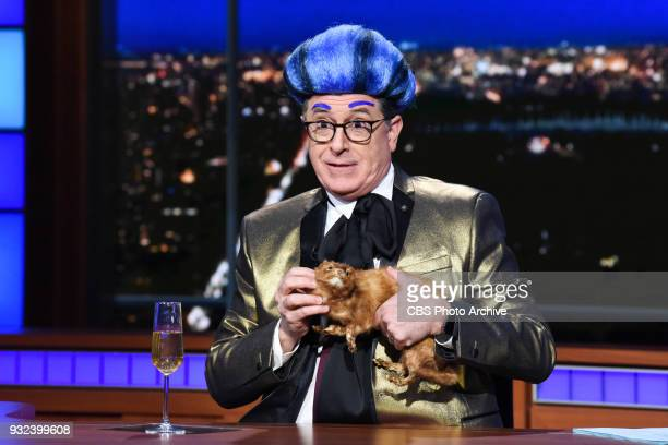 The Late Show with Stephen Colbert during Tuesday's March 13 2018 show