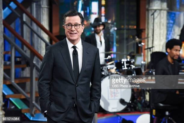 The Late Show with Stephen Colbert during Tuesday's March 6 2018 show