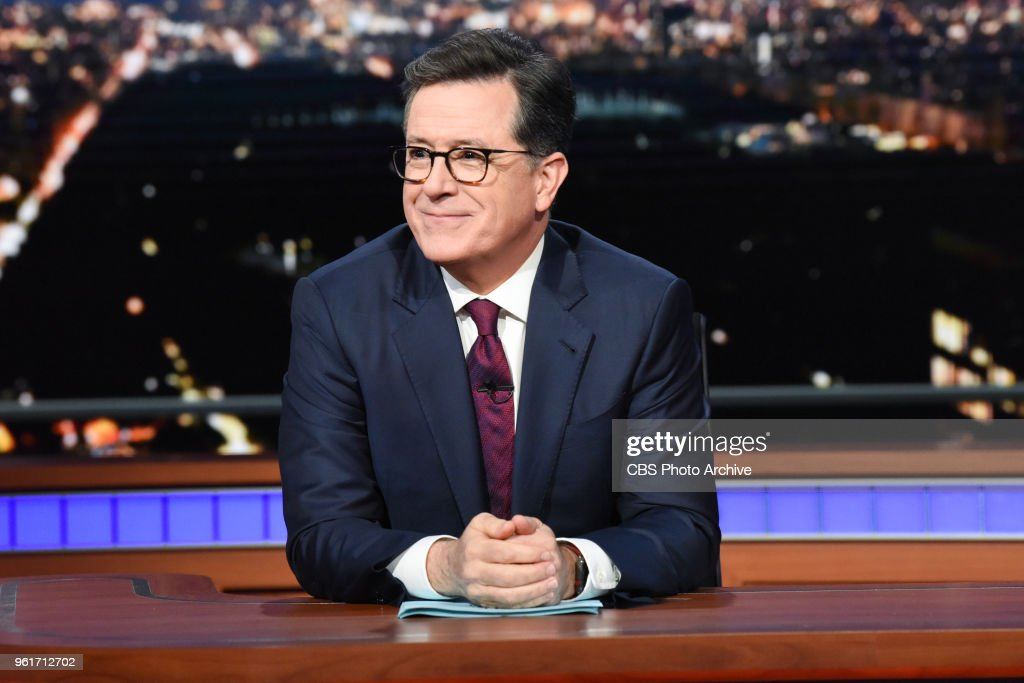 The Late Show with Stephen Colbert... : News Photo