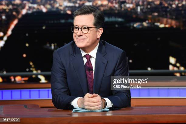 The Late Show with Stephen Colbert during Tuesday's May 22 2018 show