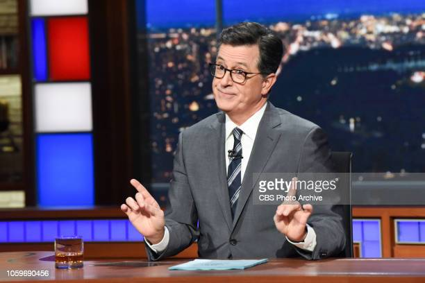 The Late Show with Stephen Colbert during Tuesday's November 6 2018 live show