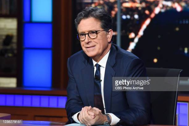 The Late Show with Stephen Colbert during Tuesdays September 14, 2021 show.