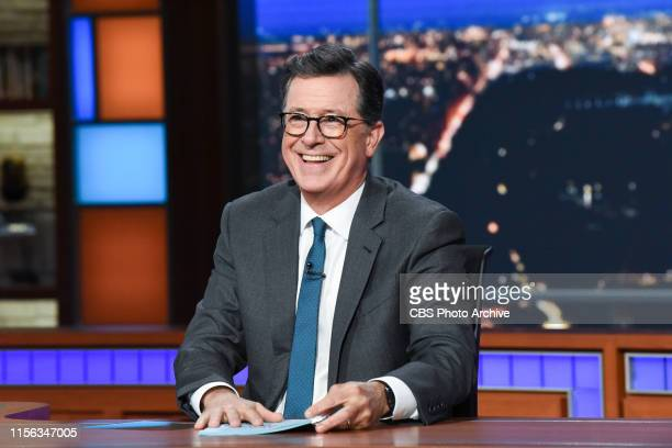 The Late Show with Stephen Colbert during Wednesday's July 17 2019 show