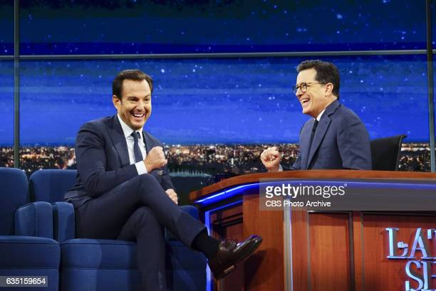 The Late Show with Stephen Colbert on Friday Feb 10 2017 with guest Will Arnett