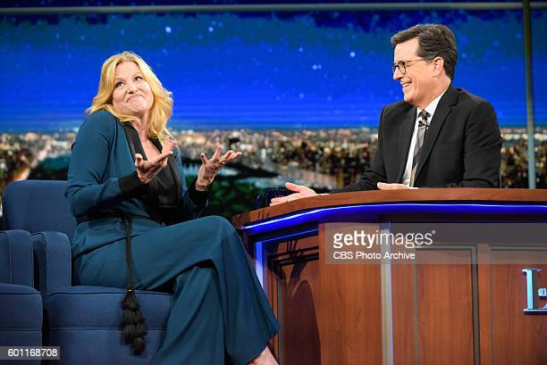 The Late Show With Stephen Colbert: With guest Anna Gunn during Thursday's 9/1/16 taping for Friday's 9/2/16 show in New York.