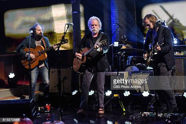 The Late Show with Stephen Colbert with guest Bob Weir during Monday's 10/17/16 taping in New York
