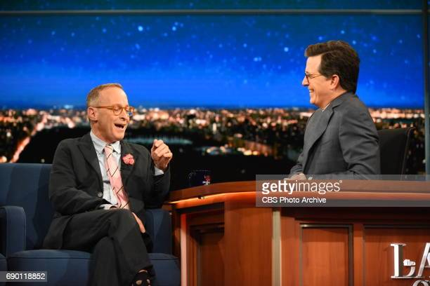 The Late Show with Stephen Colbert with guest David Sedaris during Friday's May 26 2017 show