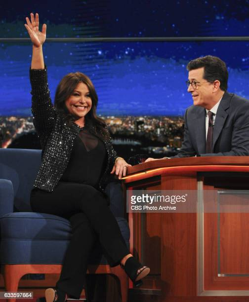 The Late Show with Stephen Colbert with guests Josh Groban Rachael Ray musical performance by Japandroids and surprise guest Jon Stewart for Tuesday...