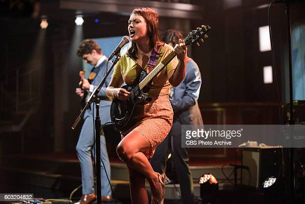 The Late Show With Stephen Colbert With musical guest Angel Olsen during Monday's 8/29/16 taping in New York
