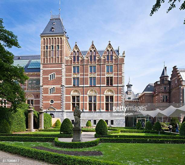 The lateral side of Rijksmuseum