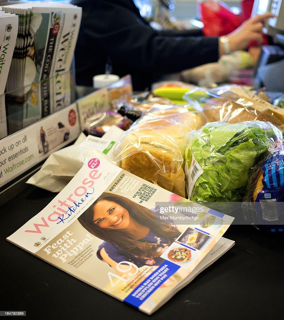 Waitrose Kitchen Pippa Middleton Column Appears : News Photo