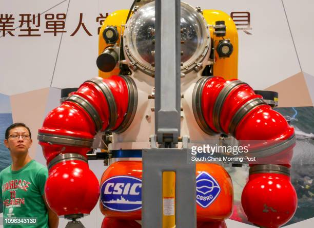 The latest equipment and submarine was displayed in the Exhibition The innoTech Expo 2016 will be held from 24 Sept to 1 Oct at the HKCEC Wan Chai...