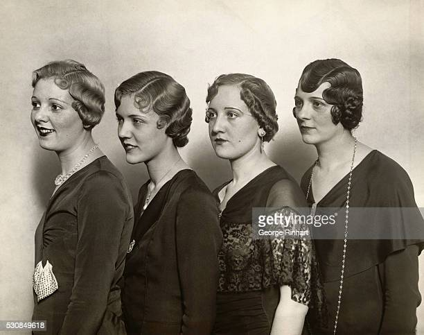 The latest idea for the fashionable womana different style hairdress for each seasonpresented at the Hotel Pennsylvania by the New York Ladies...