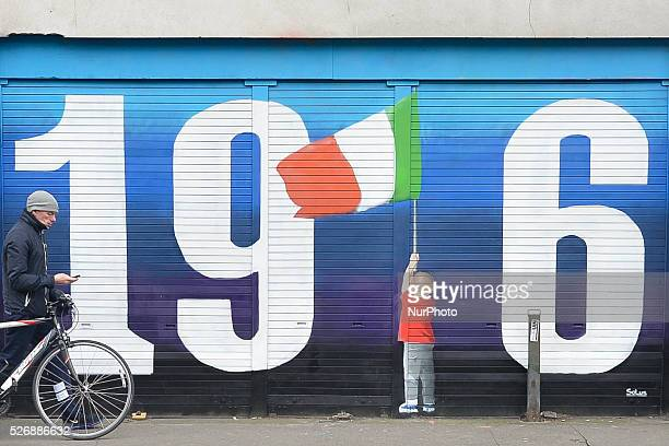 The latest street art masterpiece '1916' by Solus a Dublin based artist commemorating the 1916 Irish Rebelion completed a couple of days ahead of the...