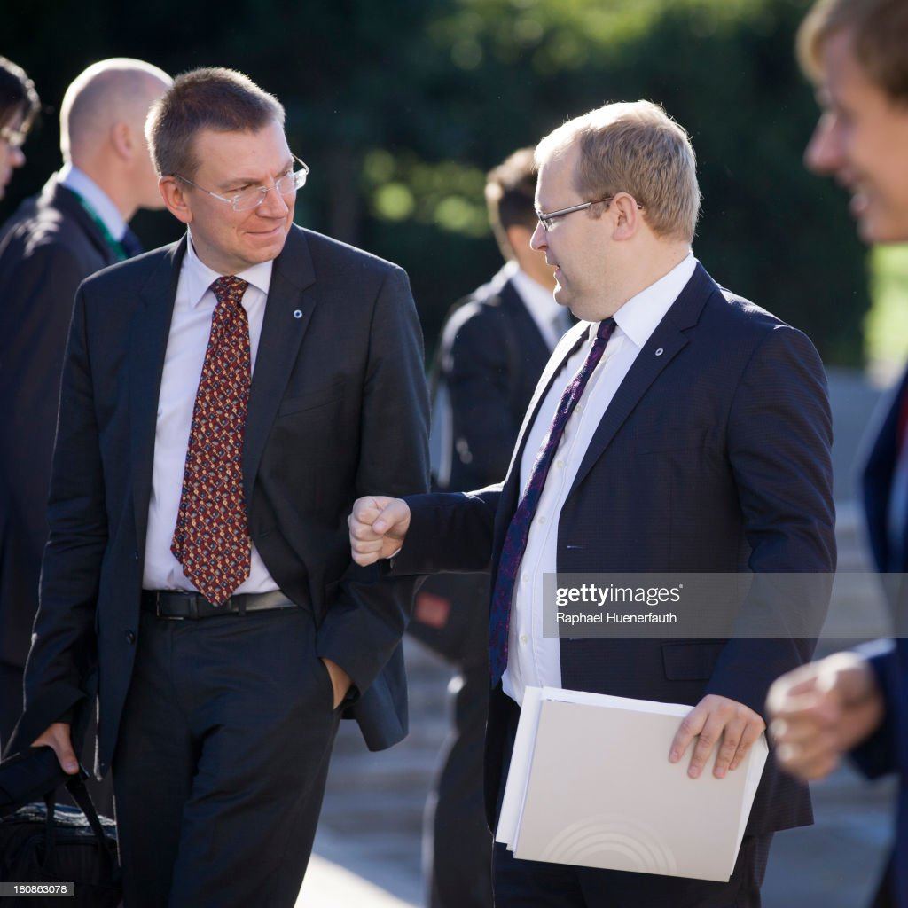 EU Foreign Ministers Meet In Vilnius