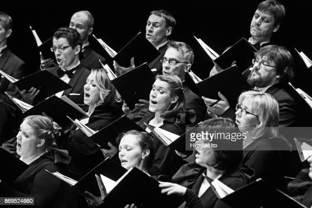 The Latvian National Choir performing at Baryshnikov Arts Center on Saturday night April 11 2015