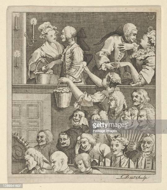 The Laughing Audience, ca. 1800. Artist Dent.