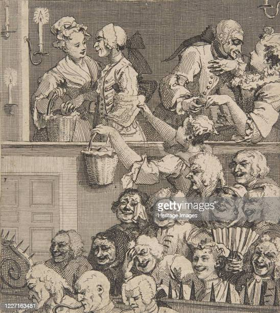 The Laughing Audience, December 1733. Artist William Hogarth.