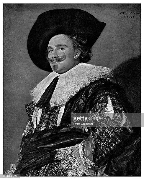 'The Laughing Cavalier' 1624 A print from The Magazine of Art Cassell and Company Limited 1901