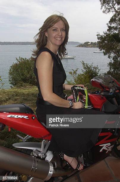 The launch of Leathers by Donna Gardner at Windemere in Sydney where she lives with current partner Johnny Kahlbetzer Donna is the former wife of...