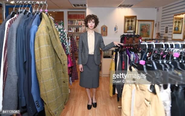The Launch of Miranda July's Interfaith Charity Shop at Selfridges Commissioned by Artangel at Selfridges on August 31 2017 in London England