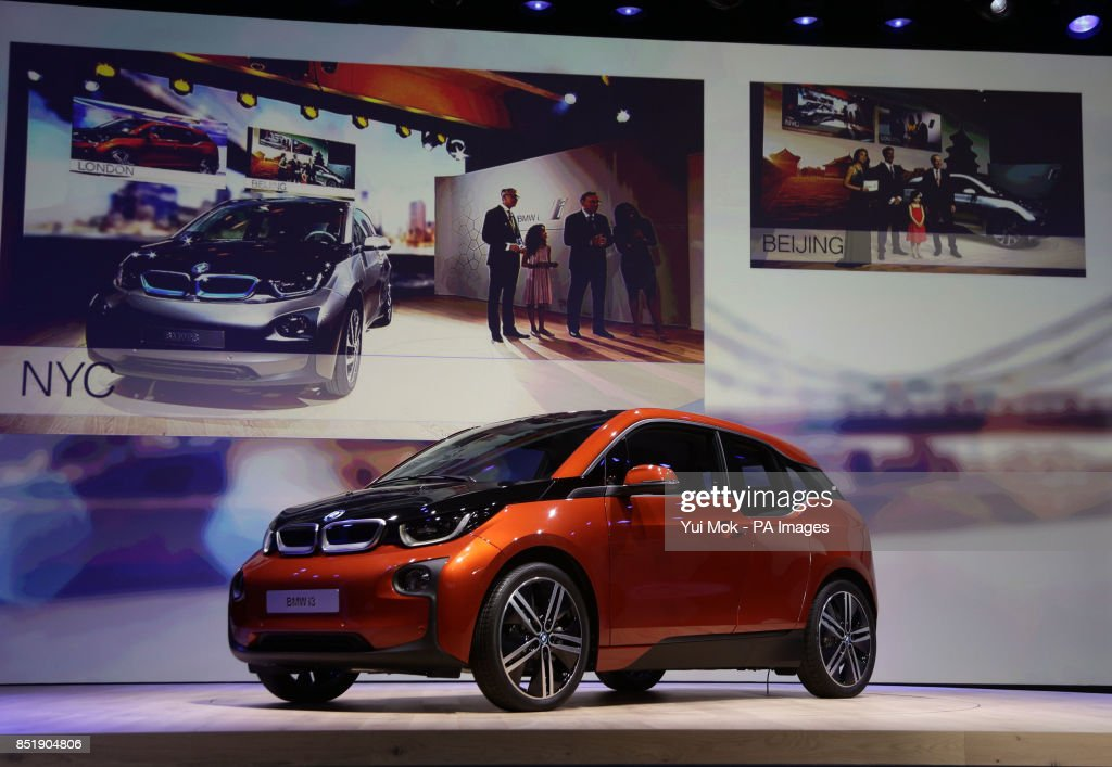 The Launch Of The Bmw I3 Electric Car The Company S First Ever
