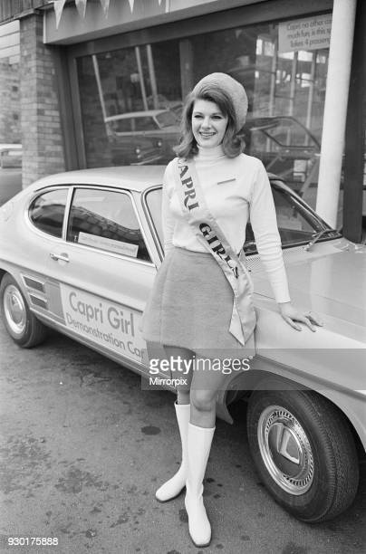 The launch of The Ford Capri Mk1 14th February 1969