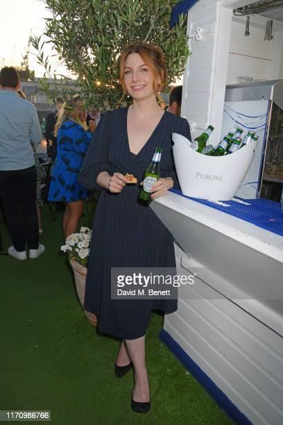 The launch of the Peroni Libera Terazza on Selfridges Rooftop with Alice Levine on August 29 2019 in London England