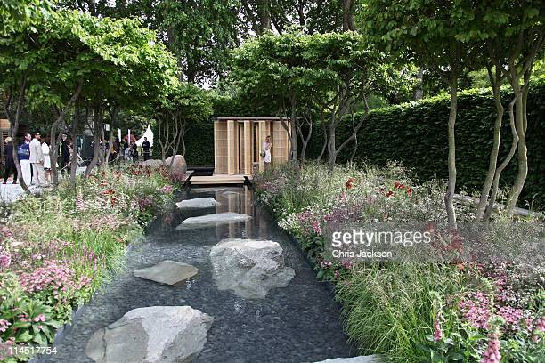 The Laurent Perrier Garden during Chelsea Flower Show Press and VIP Day on May 23 2011 in London England