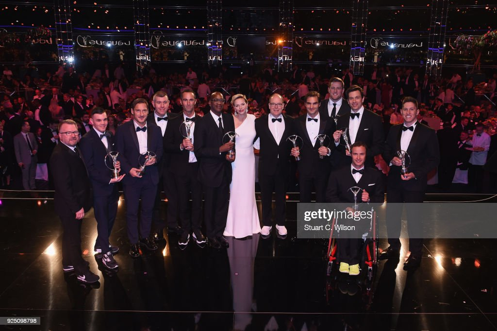 Show - 2018 Laureus World Sports Awards - Monaco : News Photo