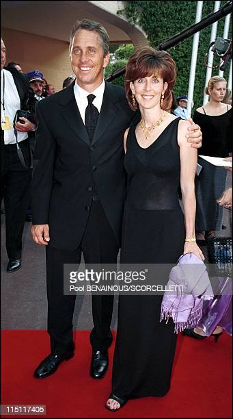 The Laureus sports awards in Monaco City Monaco on May 25 2000 Greg Lemond and wife