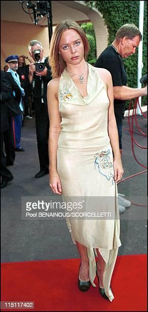 The Laureus sports awards in Monaco City Monaco on May 25 2000 Stella Mc Cartney
