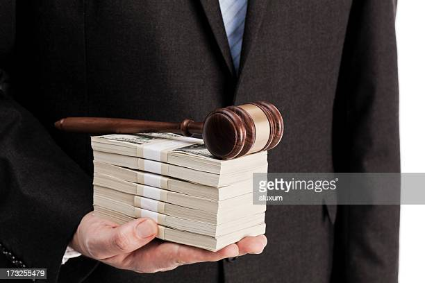the law and money - bid stock photos and pictures